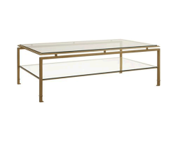 Montpelier-Cocktail-Table-with-Clear-Glass-Top-and-Shelf